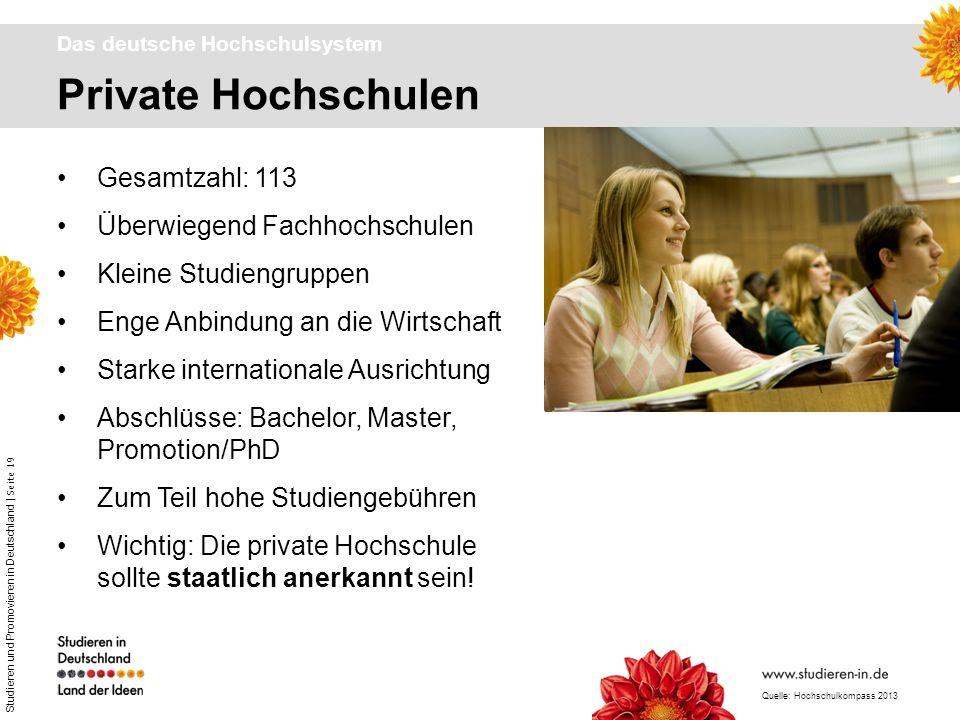 Das deutsche Hochschulsystem