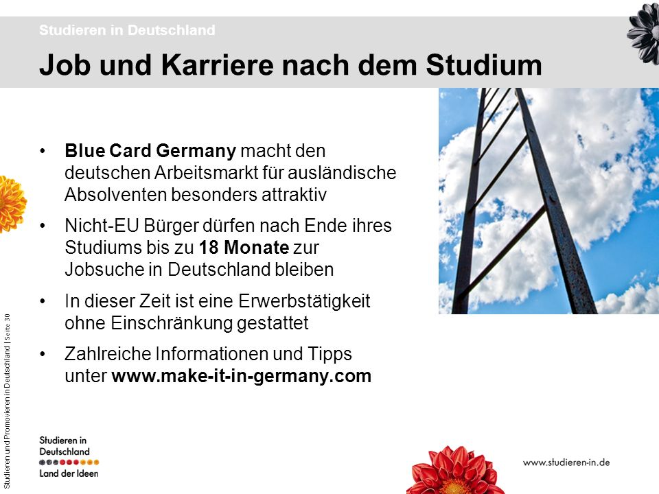 Studieren in Deutschland