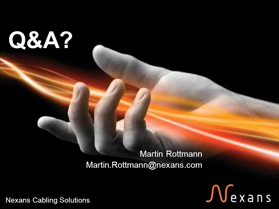 Martin Rottmann Martin.Rottmann@nexans.com