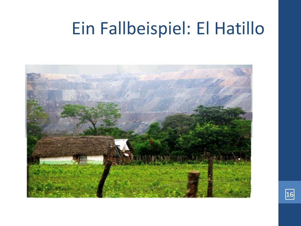 Ein Fallbeispiel: El Hatillo