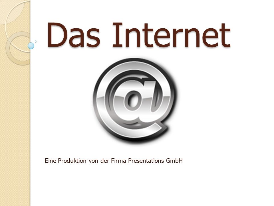 Eine Produktion von der Firma Presentations GmbH