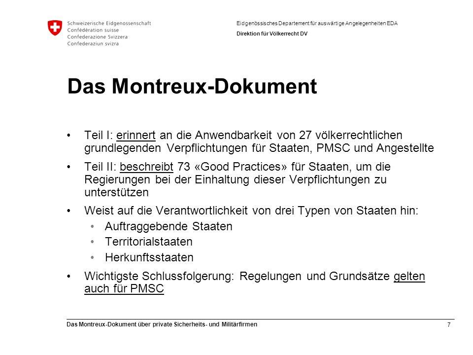 Das Montreux-Dokument
