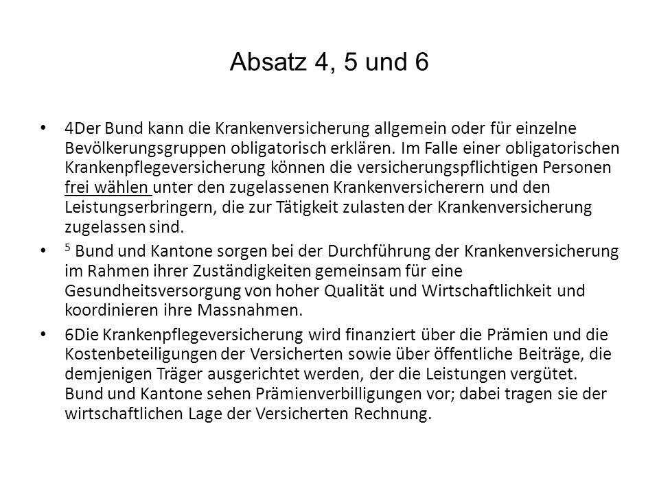 Absatz 4, 5 und 6