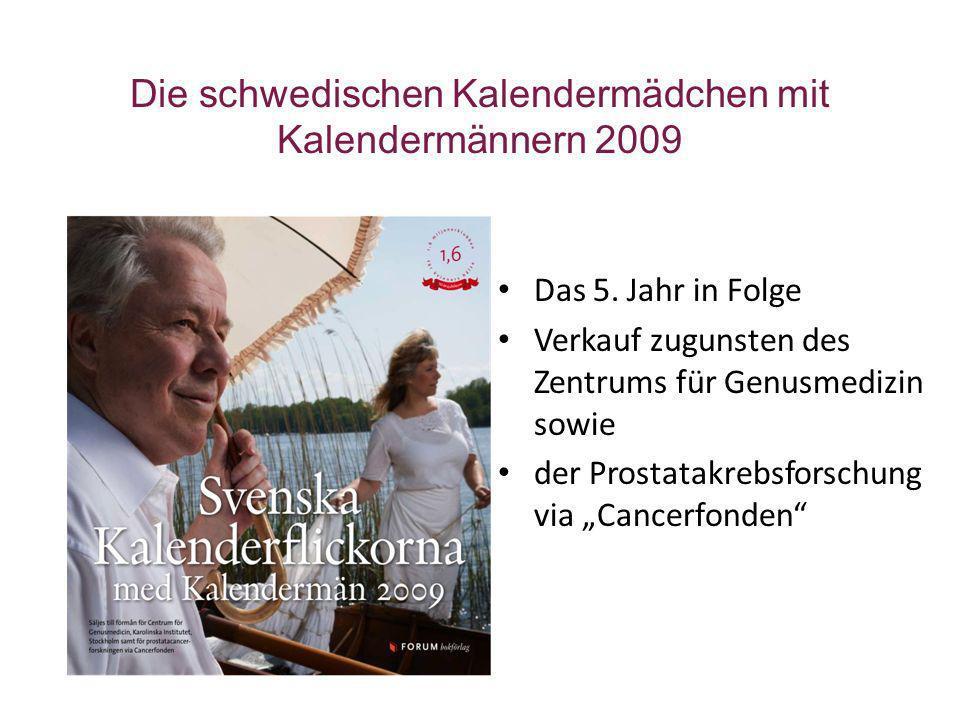 Die schwedischen Kalendermädchen mit Kalendermännern 2009