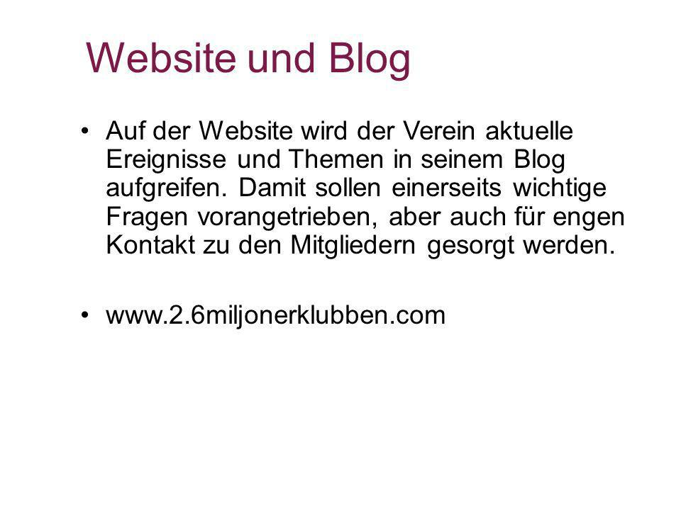 Website und Blog