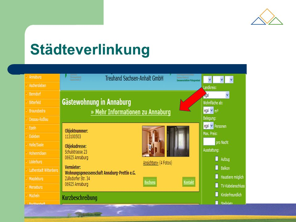 Städteverlinkung