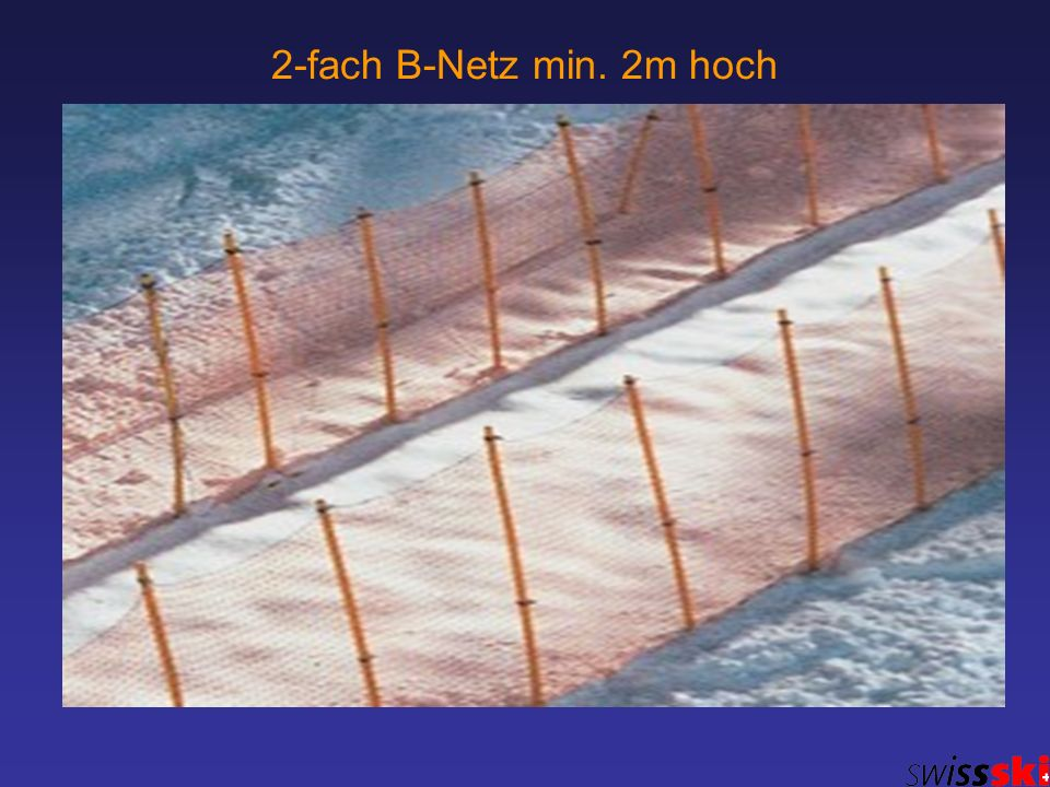2-fach B-Netz min. 2m hoch