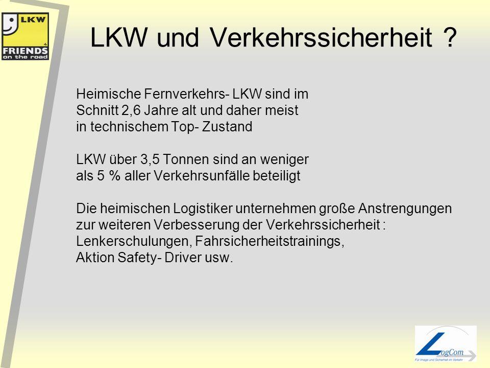 LKW und Verkehrssicherheit