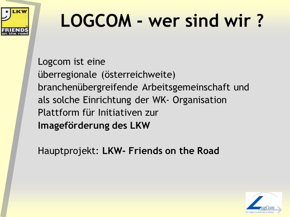 LOGCOM - wer sind wir Logcom ist eine