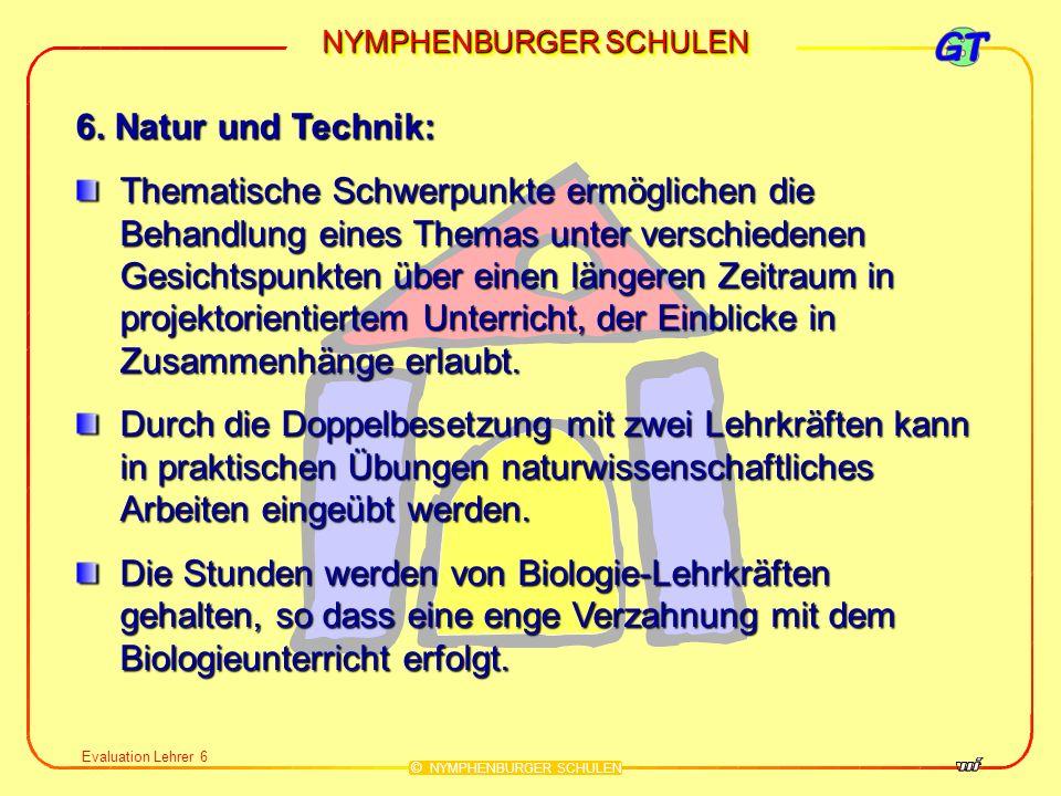 6. Natur und Technik: