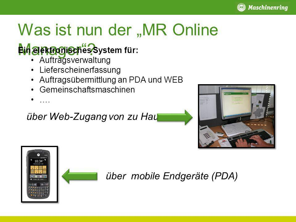 "Was ist nun der ""MR Online Manager"
