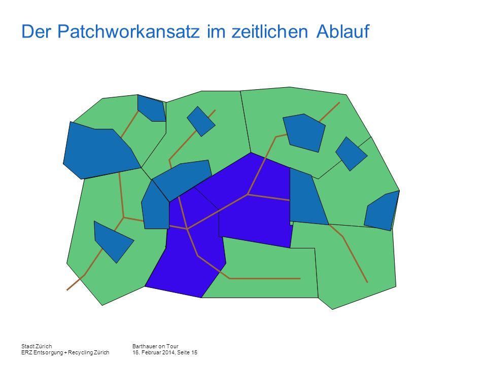 Der Patchworkansatz im zeitlichen Ablauf