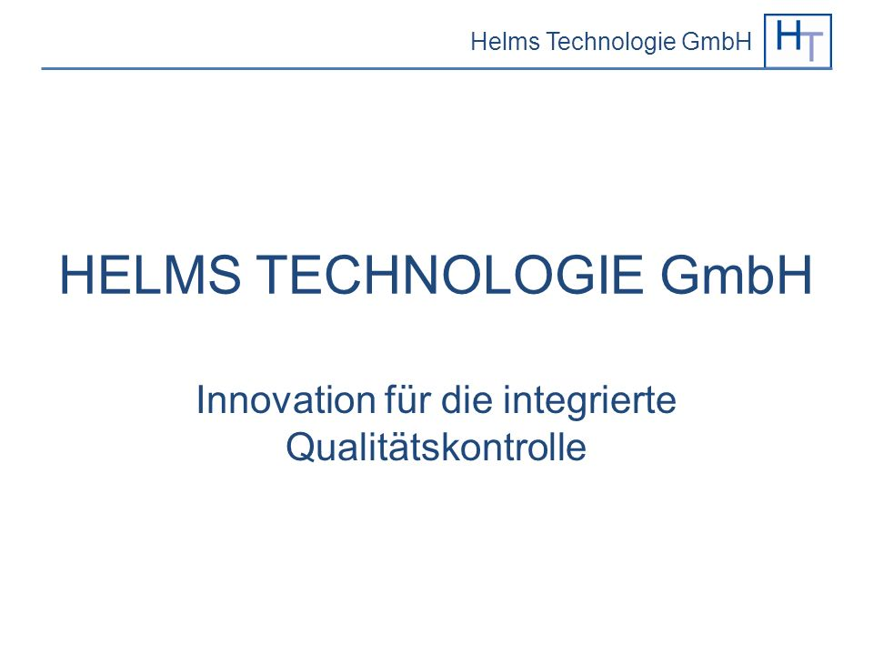 HELMS TECHNOLOGIE GmbH