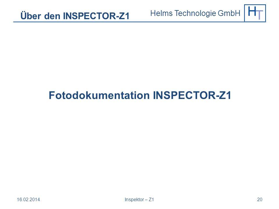 Fotodokumentation INSPECTOR-Z1