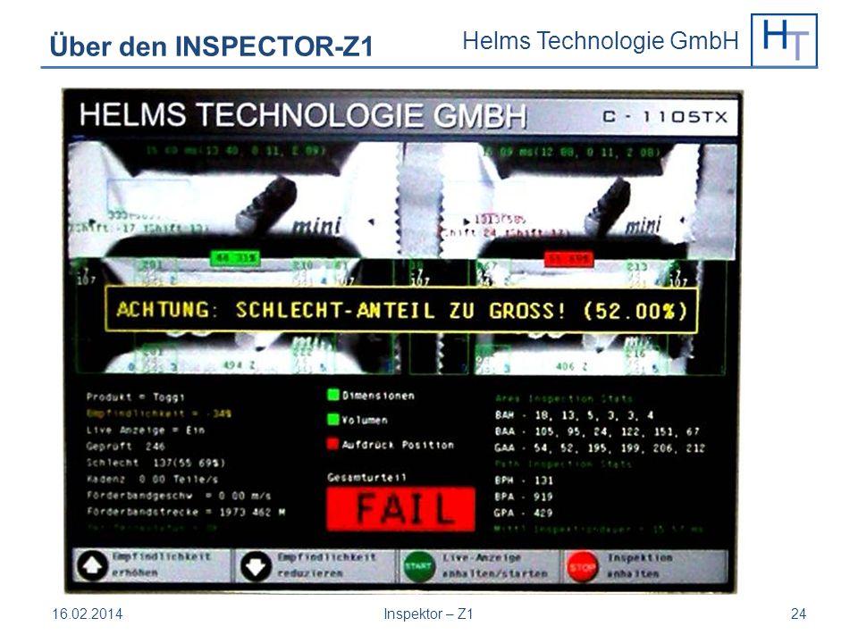 Über den INSPECTOR-Z1 28.03.2017 Inspektor – Z1