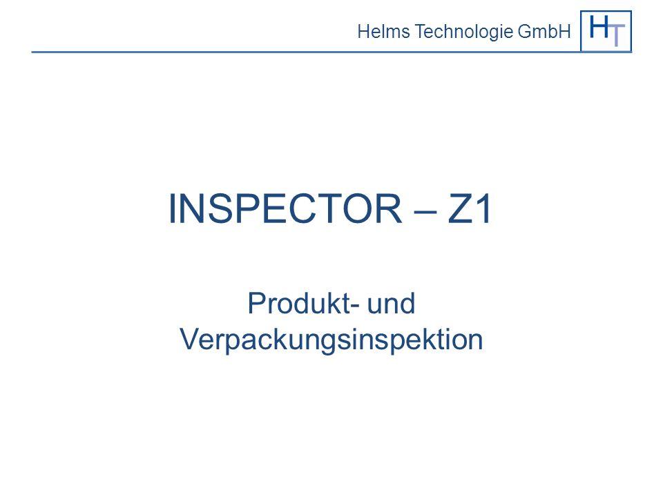 Produkt- und Verpackungsinspektion