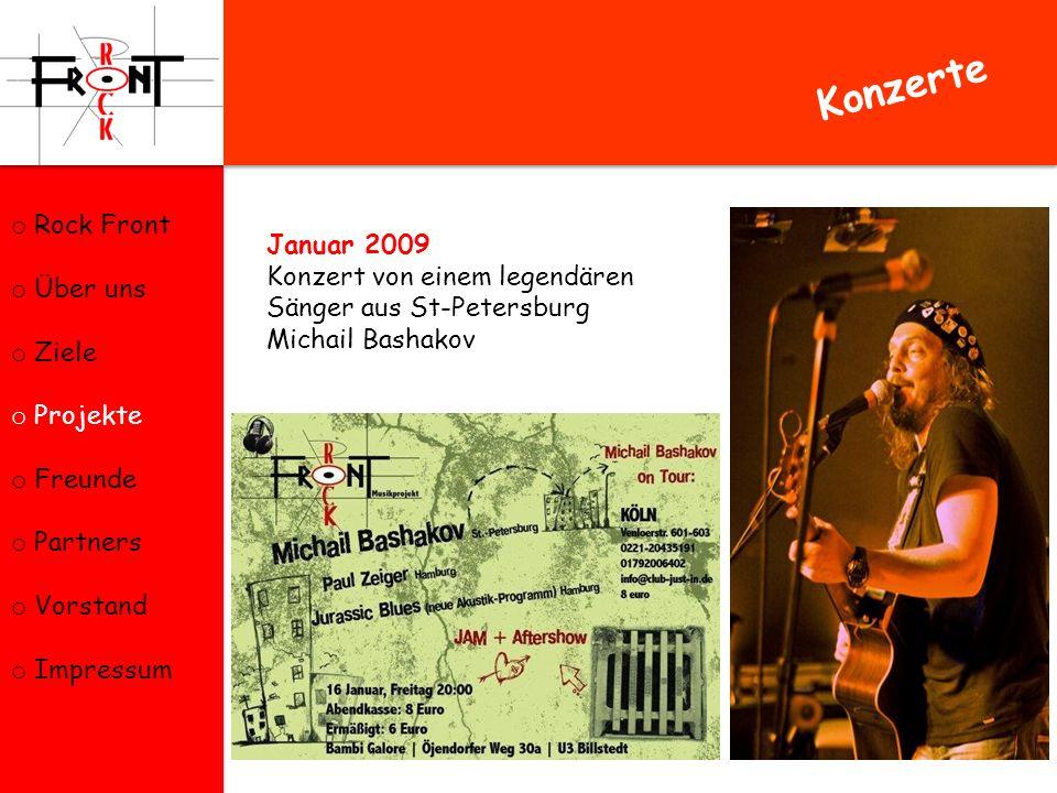 Konzerte Rock Front Über uns Ziele Projekte Freunde Partners Vorstand