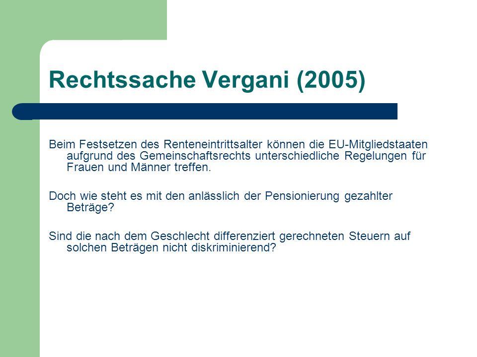 Rechtssache Vergani (2005)