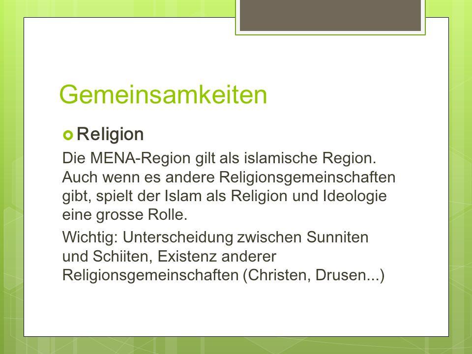 Gemeinsamkeiten Religion