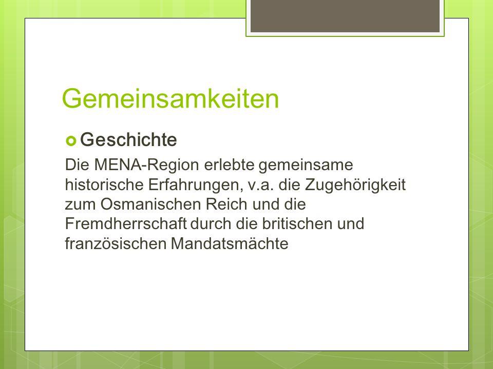 Gemeinsamkeiten Geschichte
