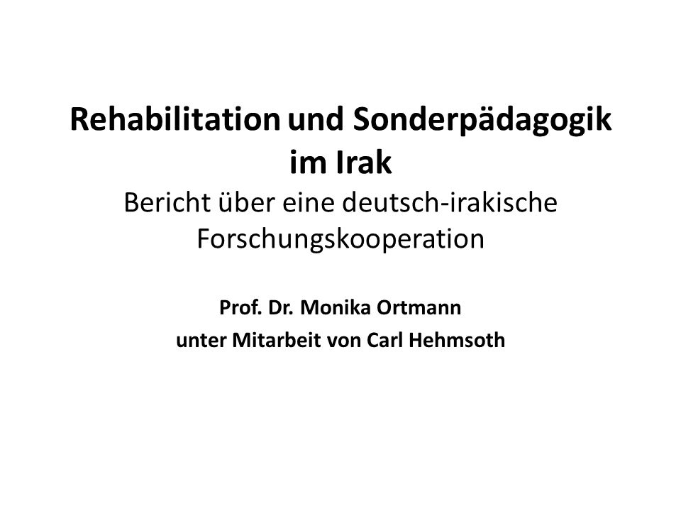 Prof. Dr. Monika Ortmann unter Mitarbeit von Carl Hehmsoth