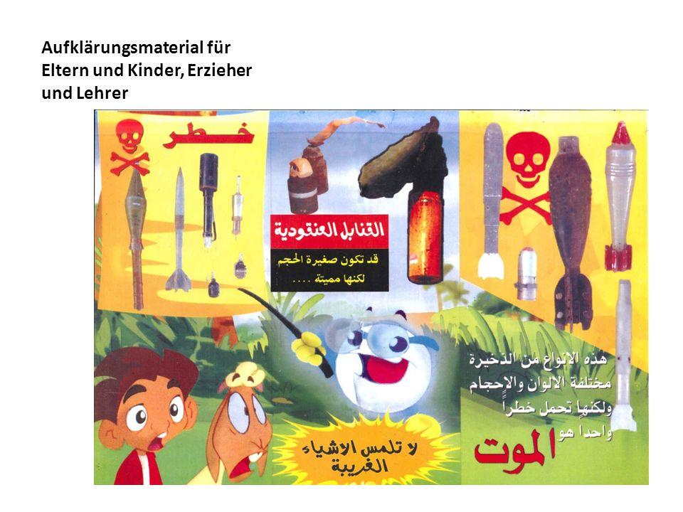 Aufklärungsmaterial für Eltern und Kinder, Erzieher und Lehrer