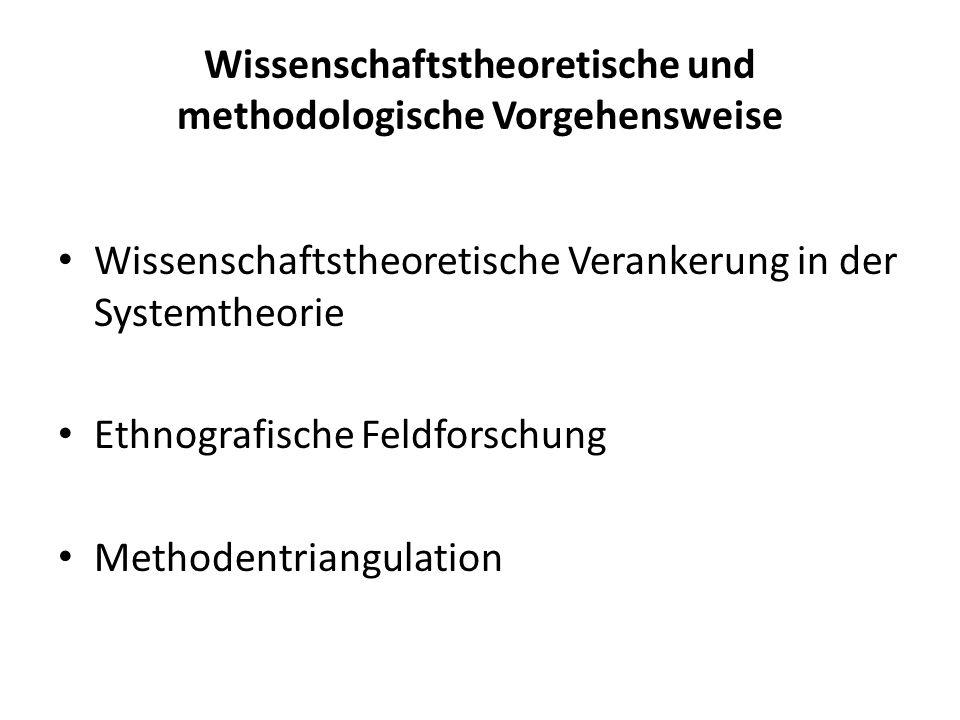 Wissenschaftstheoretische und methodologische Vorgehensweise