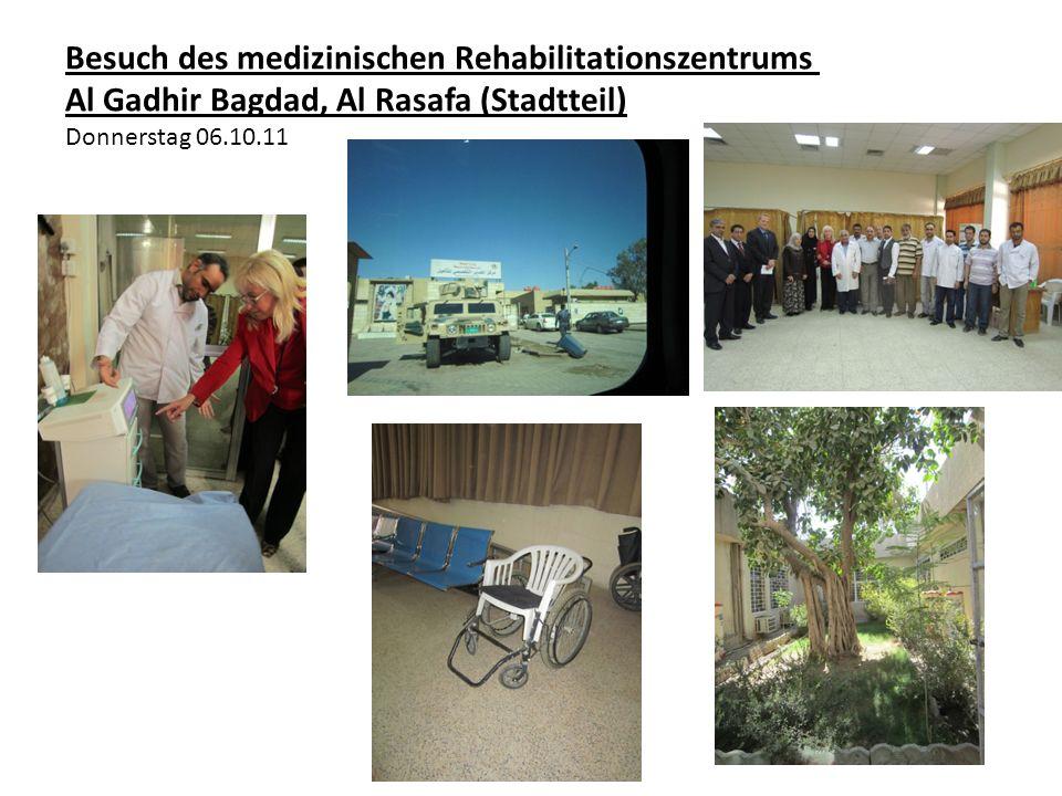Besuch des medizinischen Rehabilitationszentrums