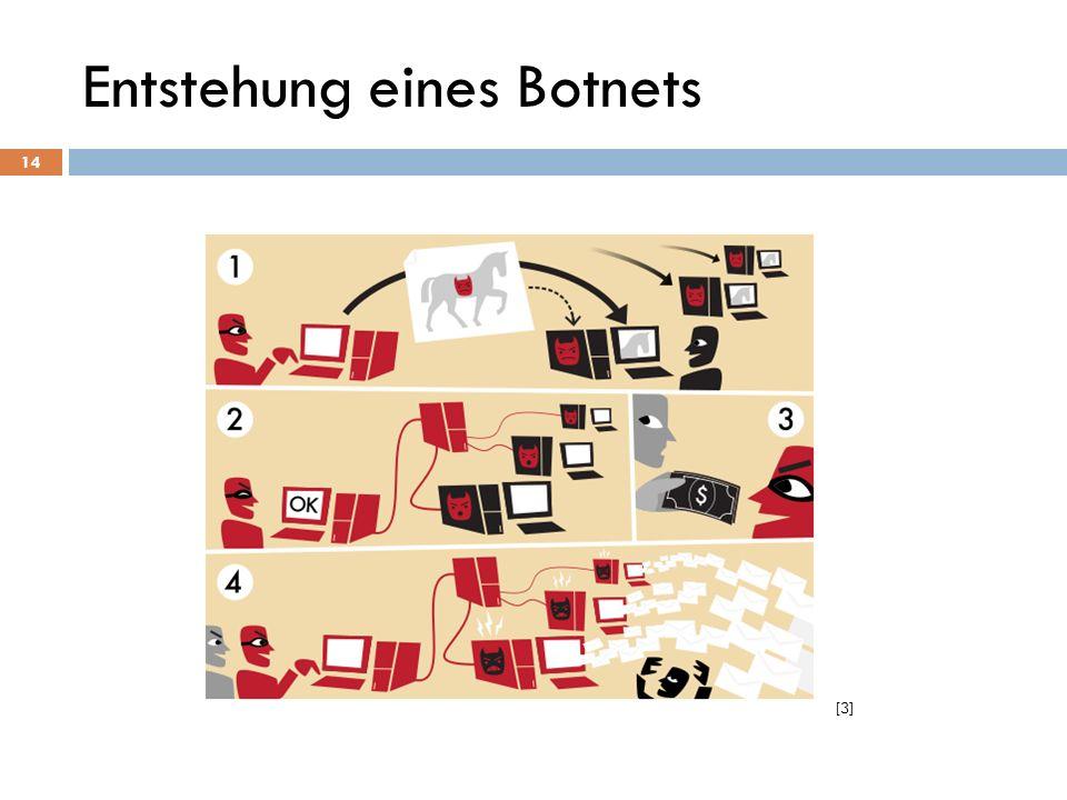 Entstehung eines Botnets