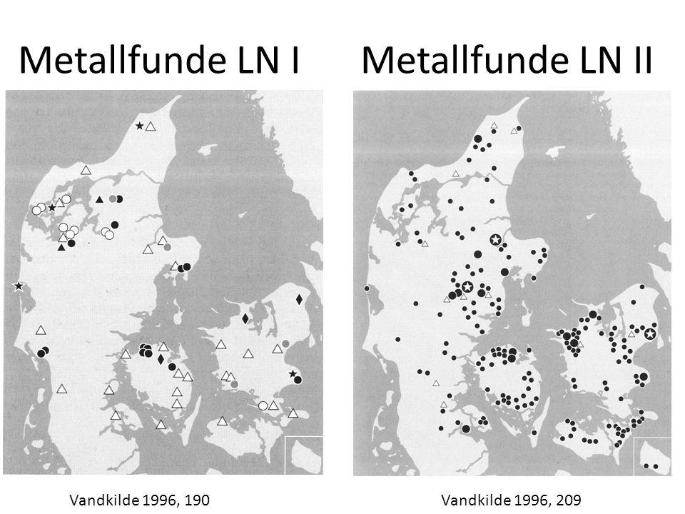 Metallfunde LN I Metallfunde LN II Vandkilde 1996, 190