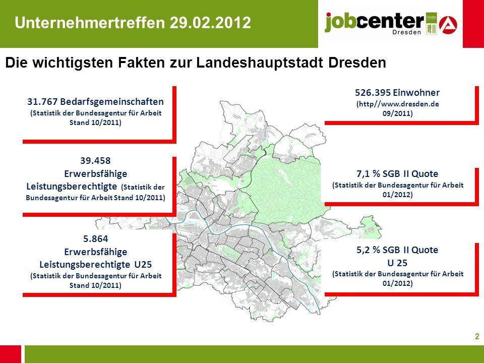 Die wichtigsten Fakten zur Landeshauptstadt Dresden