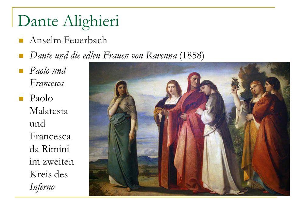 Dante Alighieri Anselm Feuerbach