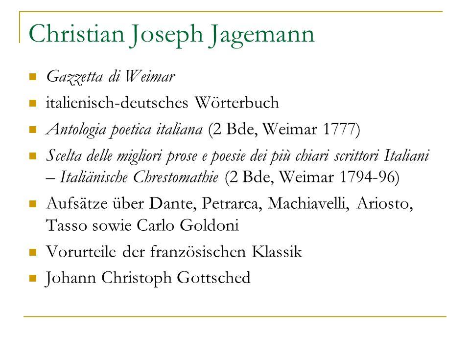 Christian Joseph Jagemann