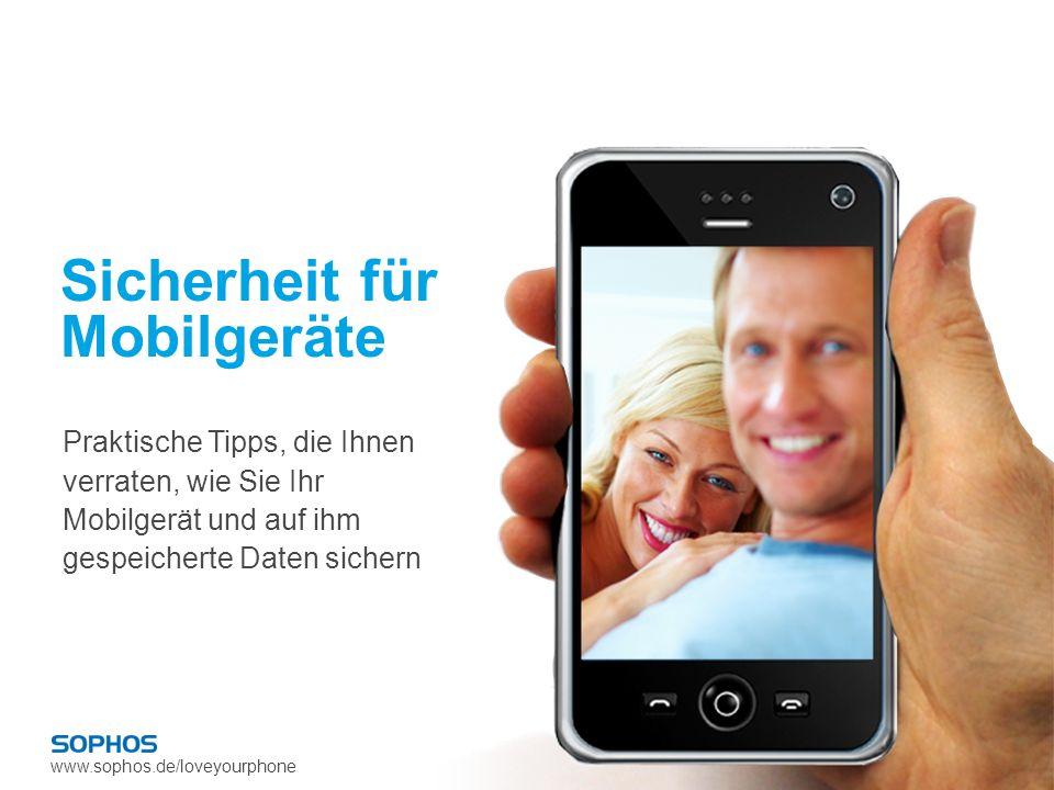 Sicherheit für Mobilgeräte