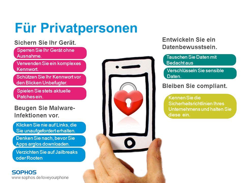 Für Privatpersonen Entwickeln Sie ein Datenbewusstsein.