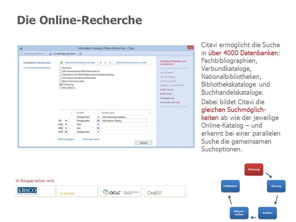Die Online-Recherche