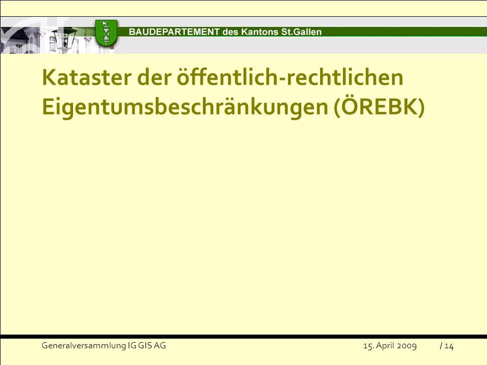 Kataster der öffentlich-rechtlichen Eigentumsbeschränkungen (ÖREBK)