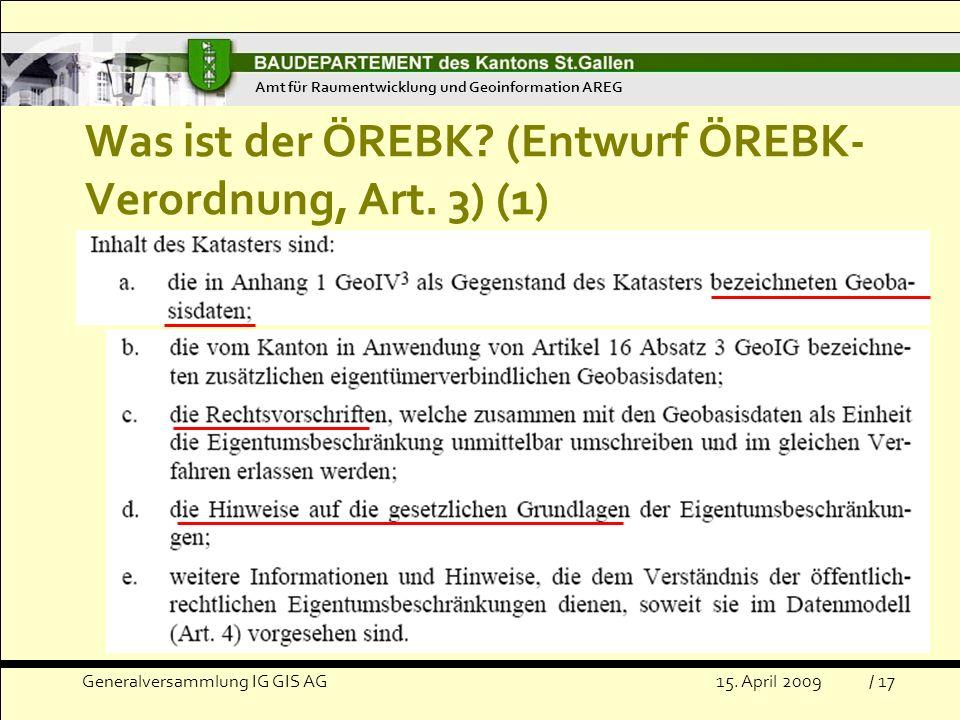 Was ist der ÖREBK (Entwurf ÖREBK-Verordnung, Art. 3) (1)
