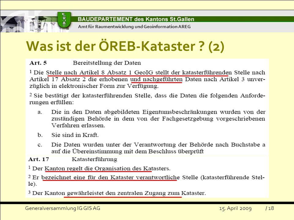 Was ist der ÖREB-Kataster (2)
