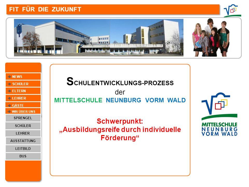 SCHULENTWICKLUNGS-PROZESS MITTELSCHULE NEUNBURG VORM WALD