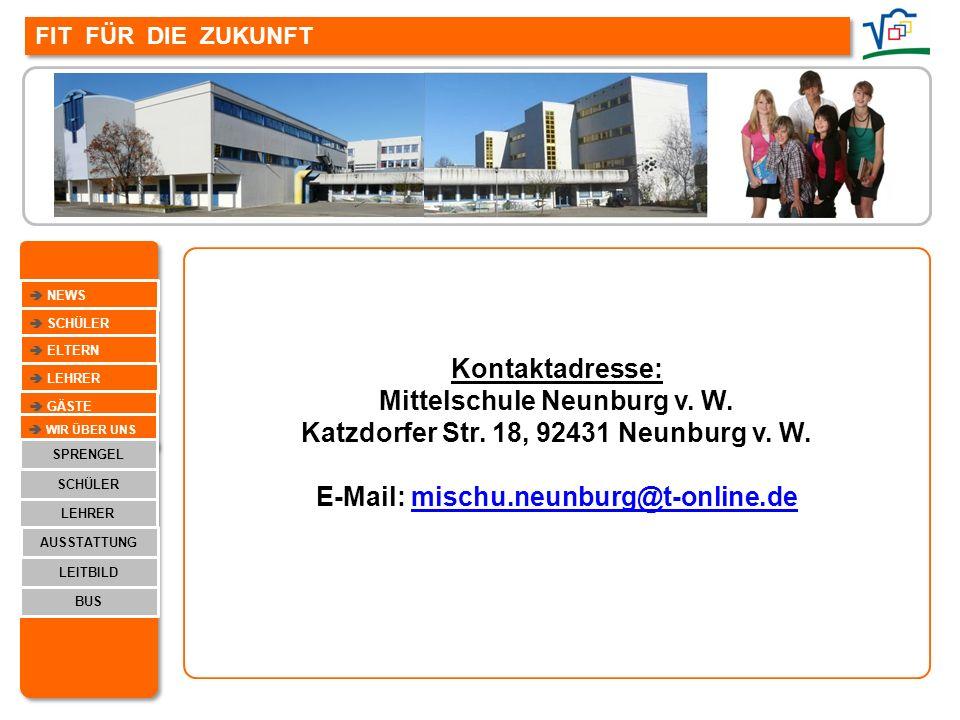 Mittelschule Neunburg v. W. Katzdorfer Str. 18, 92431 Neunburg v. W.