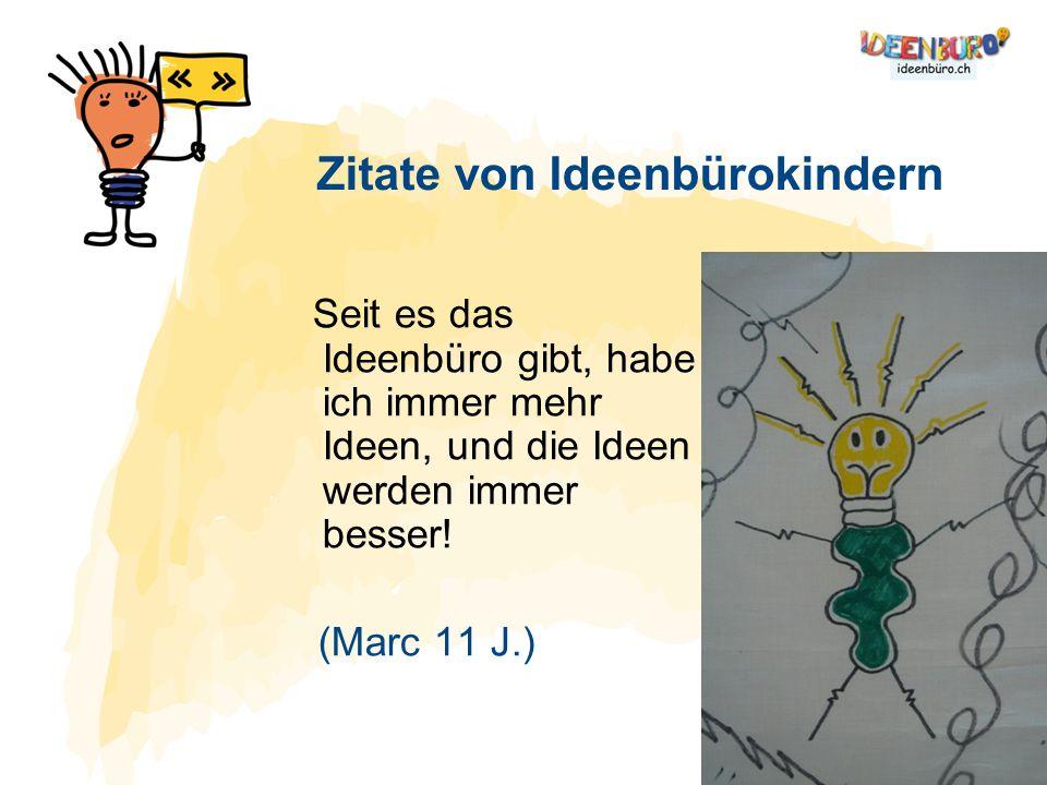 Zitate von Ideenbürokindern
