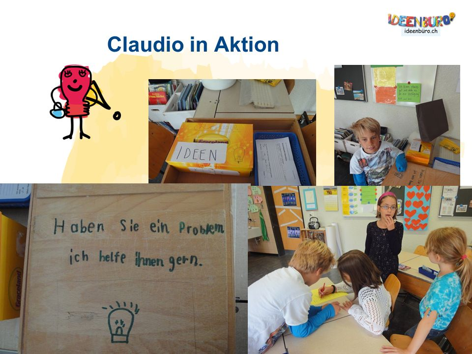 Claudio in Aktion