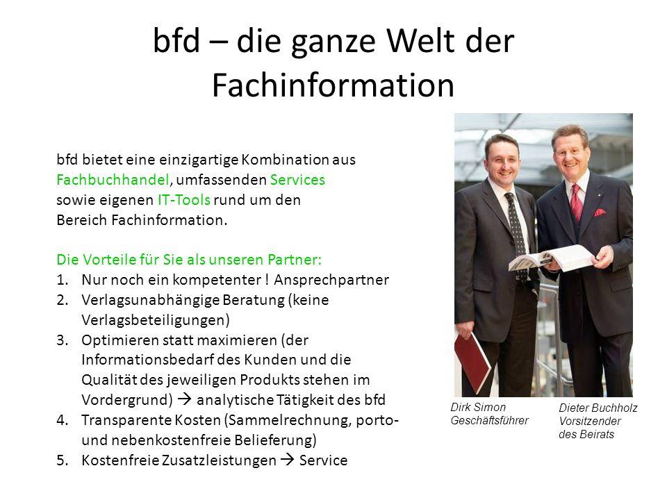 bfd – die ganze Welt der Fachinformation