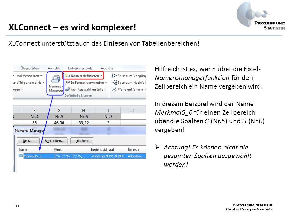 XLConnect – es wird komplexer!