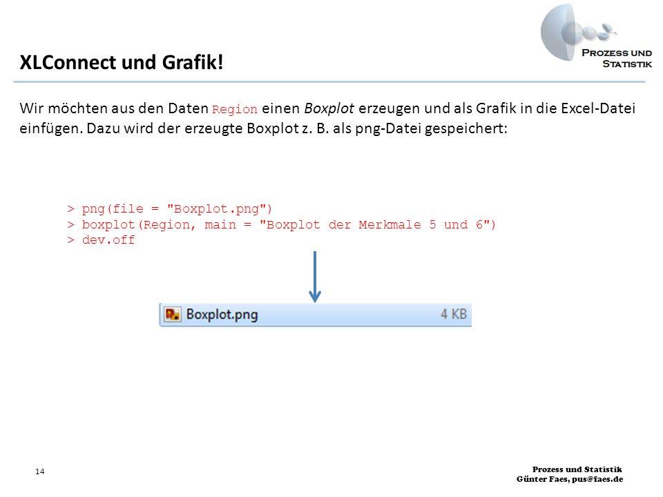 XLConnect und Grafik!