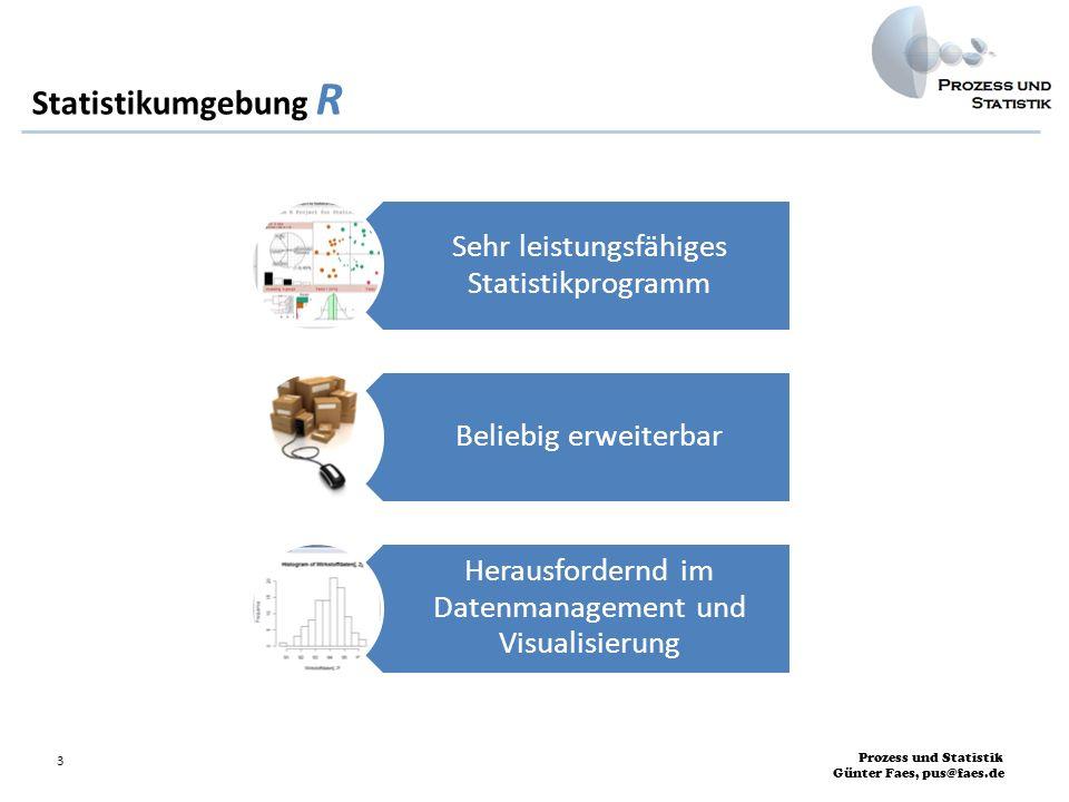 Statistikumgebung R Sehr leistungsfähiges Statistikprogramm