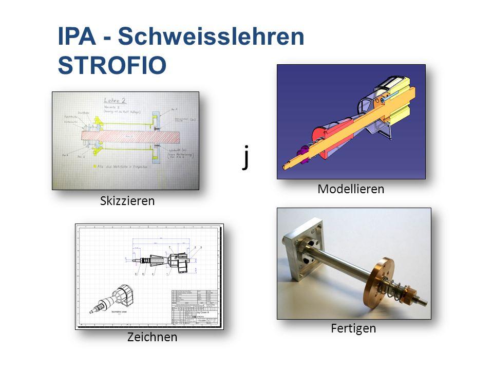 j IPA - Schweisslehren STROFIO Modellieren Skizzieren Zeichnen