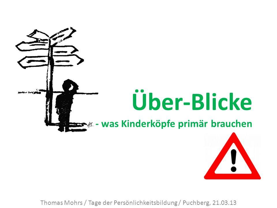 Thomas Mohrs / Tage der Persönlichkeitsbildung / Puchberg, 21.03.13