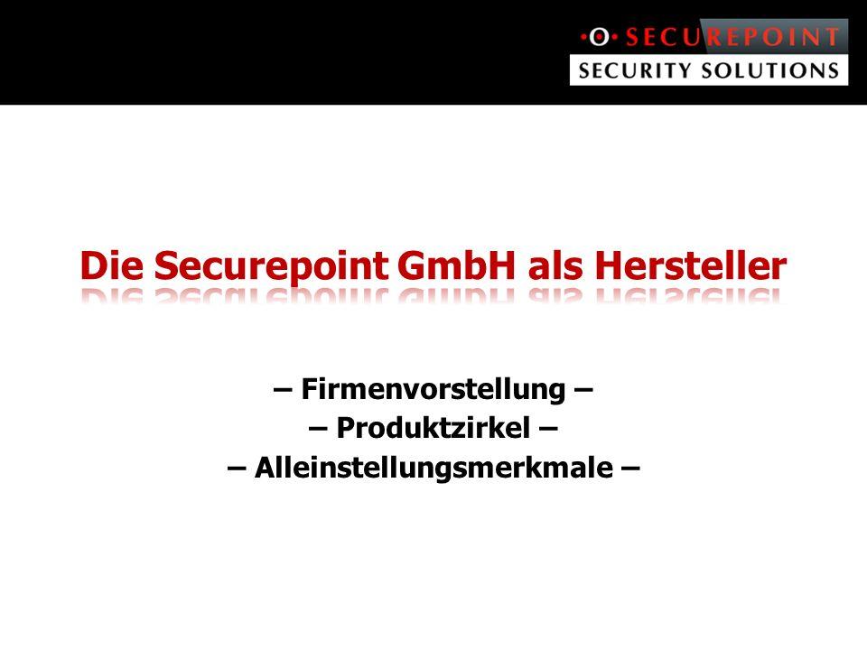 Die Securepoint GmbH als Hersteller